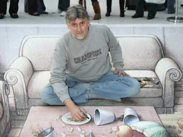 Kurt Wenner 3D arte pinturas pavimento (7)