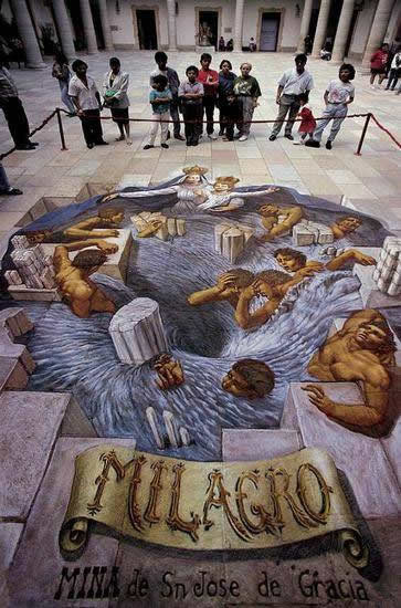Kurt Wenner 3D arte pinturas pavimento (11)