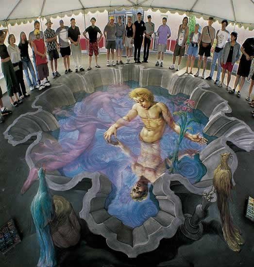 Kurt Wenner 3D arte pinturas pavimento (8)