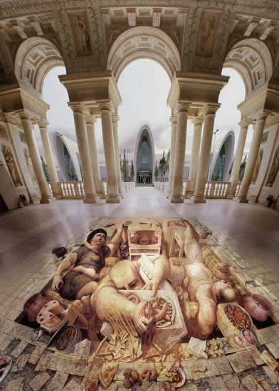 Kurt Wenner 3D arte pinturas pavimento (24)