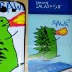 La historia de Samsung, el dibujo de un dragón y el Galaxy SIII