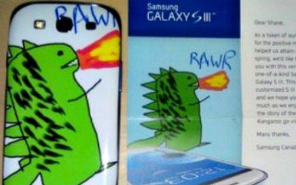 La historia de Samsung, el dibujo de un dragon y el Galaxy SIII