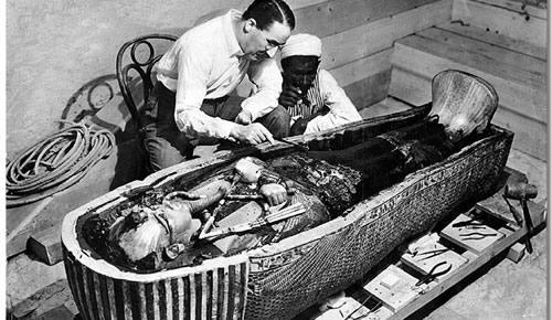tutankamon descubierto
