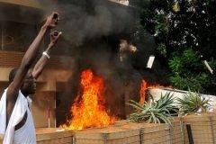 Ataques contra las embajadas de EEUU en países musulmanes (Sudán)