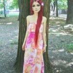 Anastasiya Shpagina, Barbie humana pelirroja