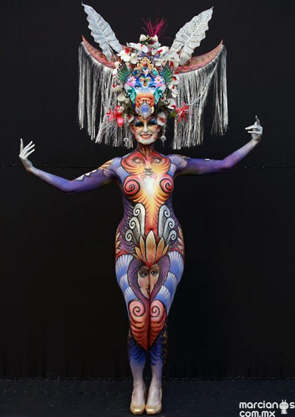 Festival Internacional Body Painting en Corea del Sur (3)