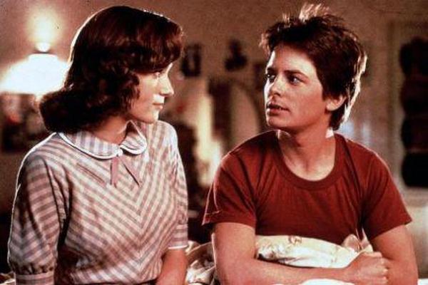 McFly y su madre