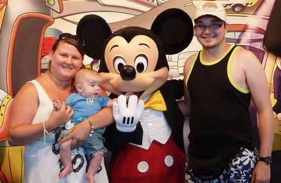 Jade Torry pierde peso Disneyland (1)