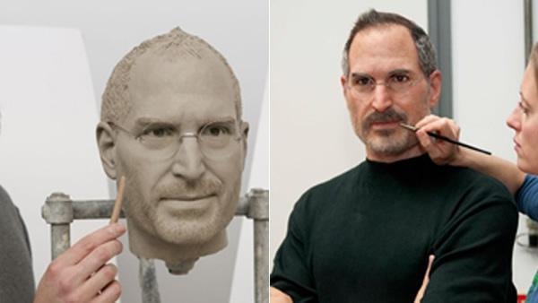 Estatua Steve Jobs