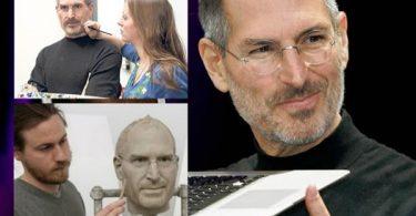 Estatua cera de Steve Jobs