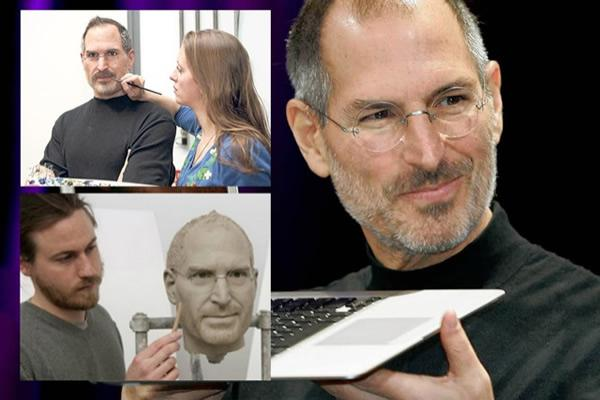 Estatua cera de Steve Jobs