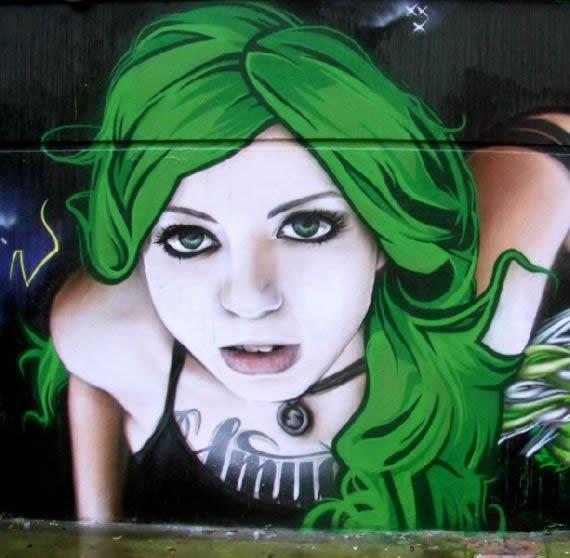 Arte callejero realista de SmugOne - Marcianos