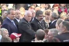 presidente Vaclav Klaus tiroteo