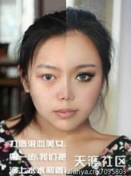 Maquillaje el antes y después (14)