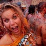 Tomatina 2012, el festival más rojo del mundo
