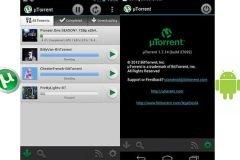 Screenshots µTorrent Android