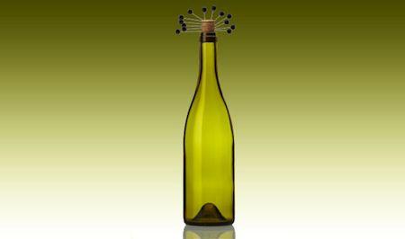 botella alfileres