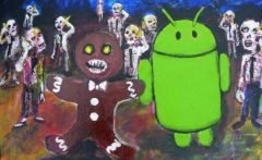 Imagen satánica escondida en Android