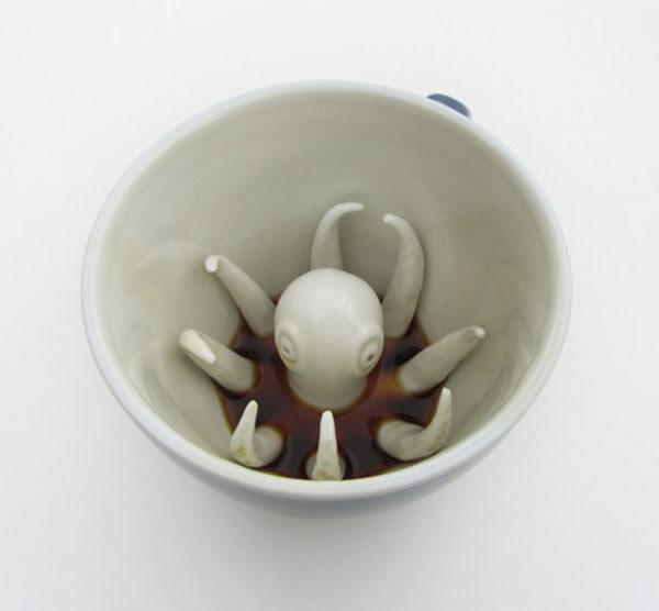 Creature Cups tazas (4)