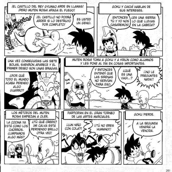 Dragon Ball ¡A toda leche! (2)