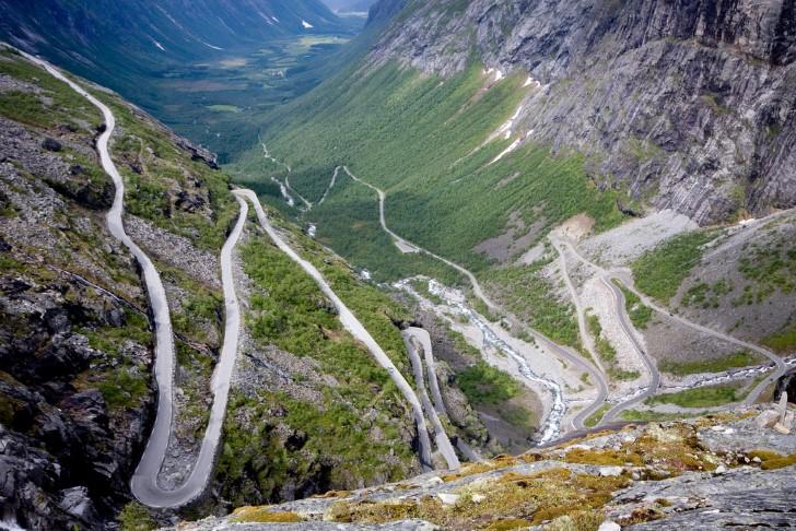 Trollstigen carretera en noruega