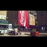 Coca-Cola y su colosal maquina vending