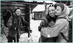 Lyudmila Dublinina y Yury Yudin