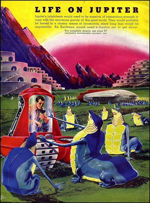 FANTASTIC ADVENTURES ilustraciones Frank R. Paul (9)