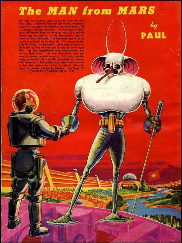 FANTASTIC ADVENTURES ilustraciones Frank R. Paul (7)