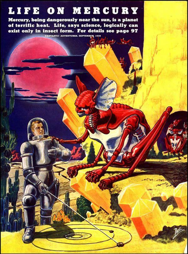 FANTASTIC ADVENTURES ilustraciones Frank R. Paul (6)