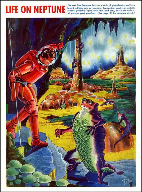 FANTASTIC ADVENTURES ilustraciones Frank R. Paul (5)