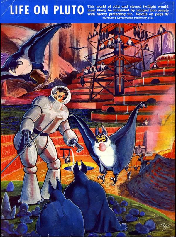 FANTASTIC ADVENTURES ilustraciones Frank R. Paul (4)