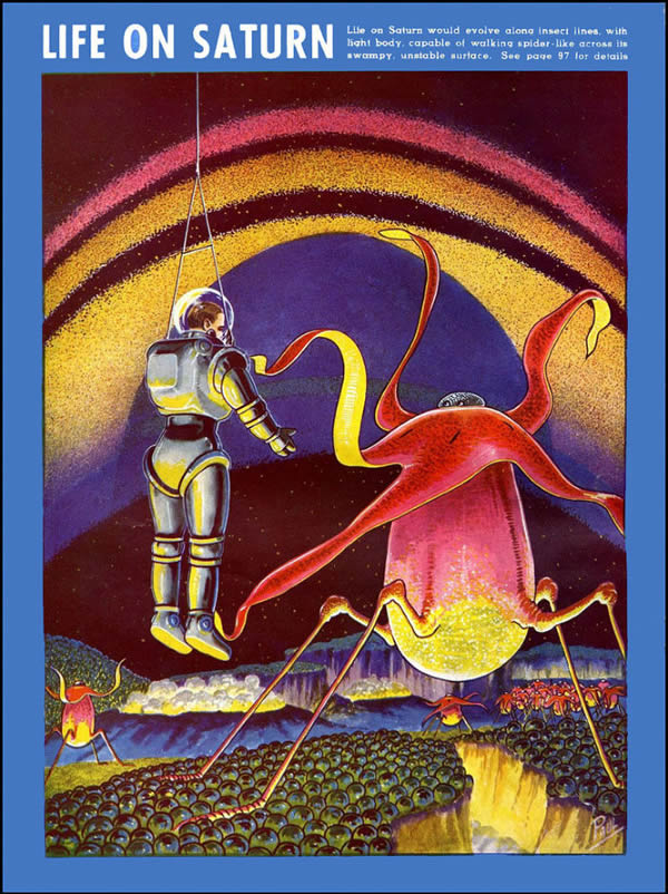 FANTASTIC ADVENTURES ilustraciones Frank R. Paul (3)