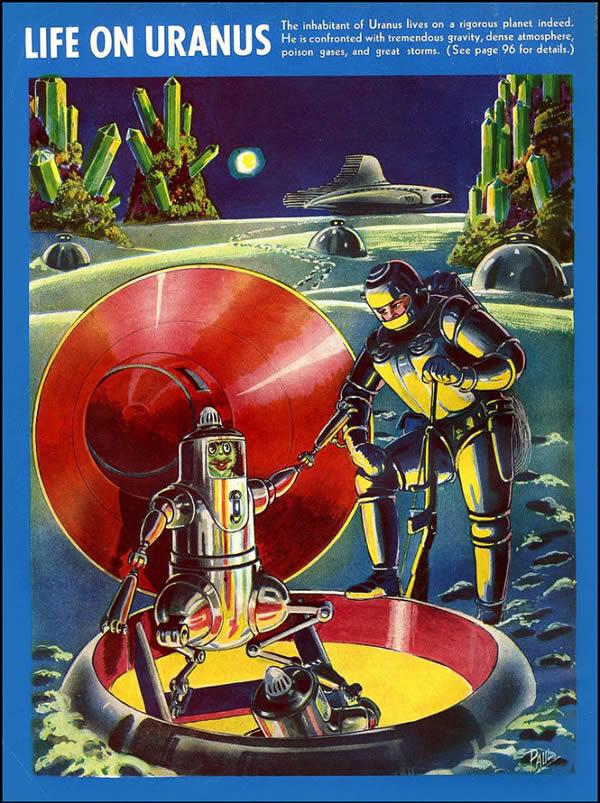 FANTASTIC ADVENTURES ilustraciones Frank R. Paul (2)