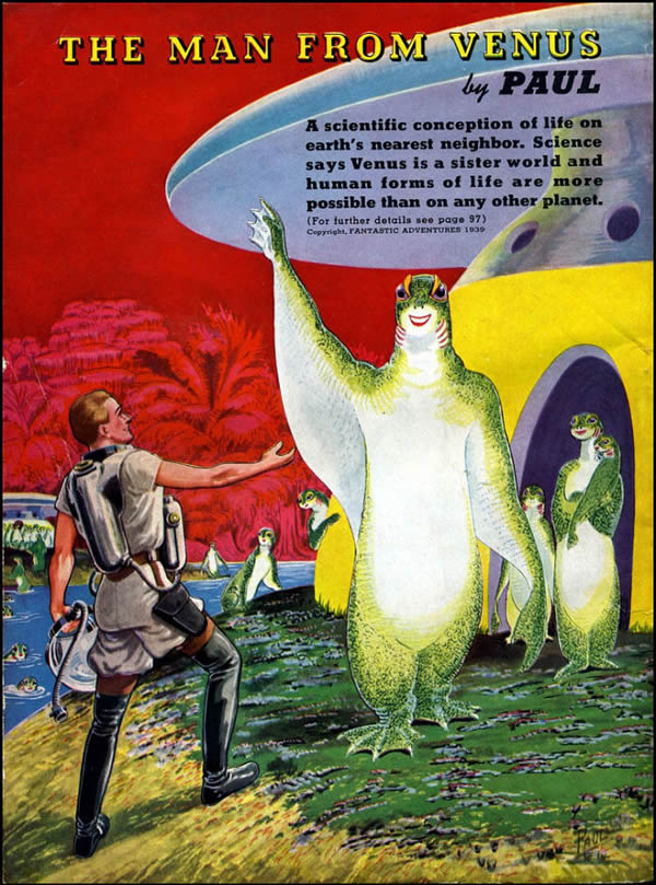 FANTASTIC ADVENTURES ilustraciones Frank R. Paul (1)