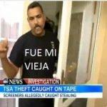 Agente de TSA roba in iPad y acusa a su mujer
