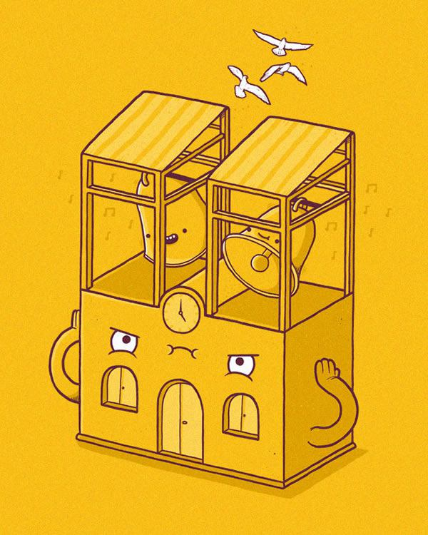 Randy Otter ilustracion (19)