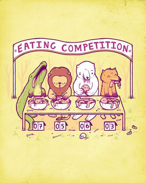 Randy Otter ilustracion (16)