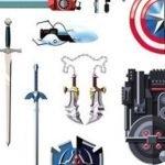 Las armas más famosas de los personajes de videojuegos o películas