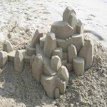 Castillos de arena geométricos por Calvin Seibert