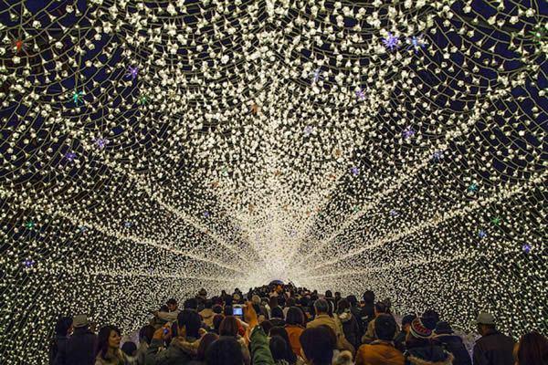 Nabana no Sato luces invierno (1)