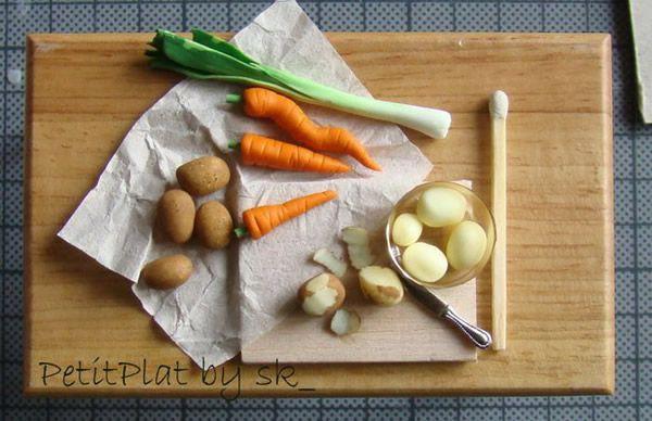 PetitPlat comida miniatura (25)