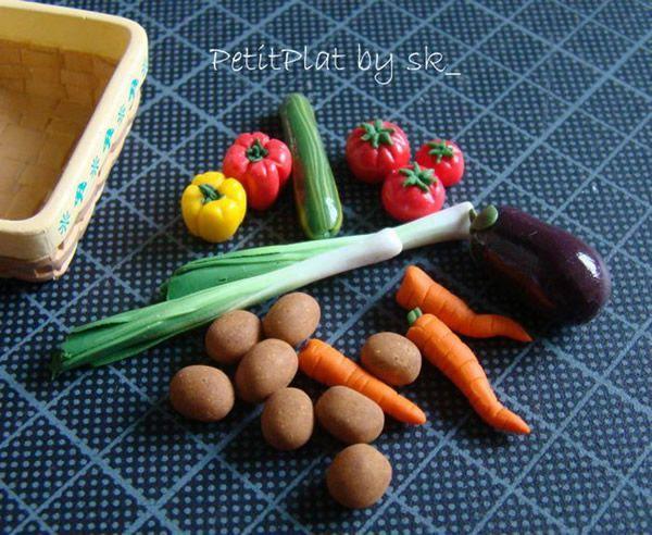 PetitPlat comida miniatura (10)