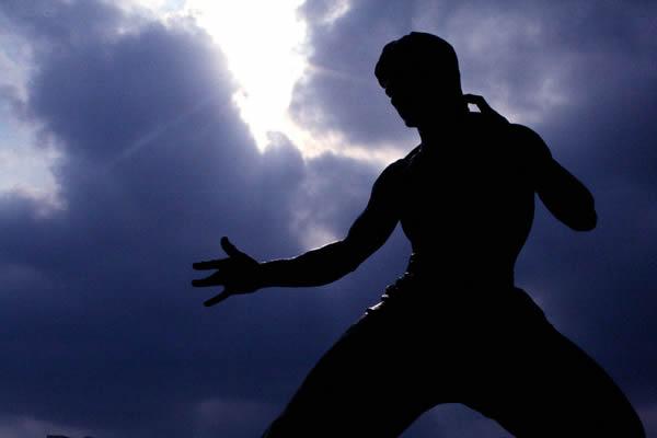 Estatua Bruce Lee (3)