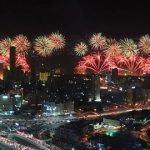 Kuwait celebra su jubileo de oro en un mar de fuegos artificiales