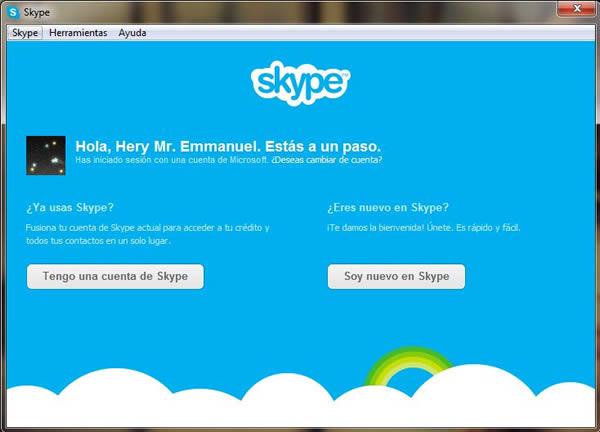 migrar de Messenger a Skype (1)