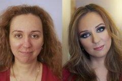 Maquillaje profesional antes y después (20)