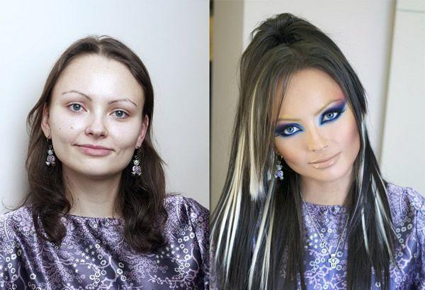 Maquillaje profesional antes y después (17)