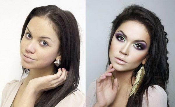 Maquillaje profesional antes y después (14)