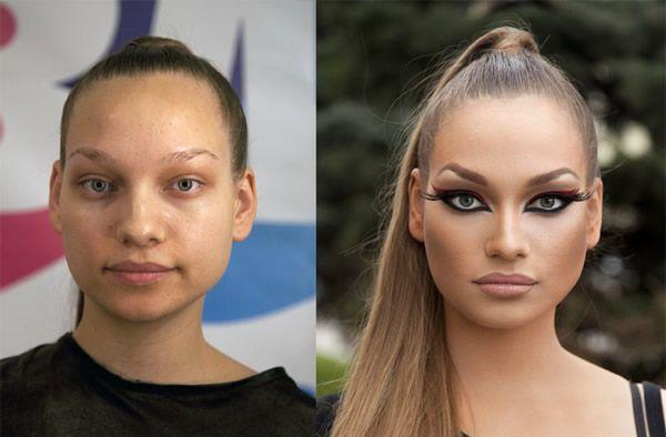 Maquillaje profesional antes y después (11)